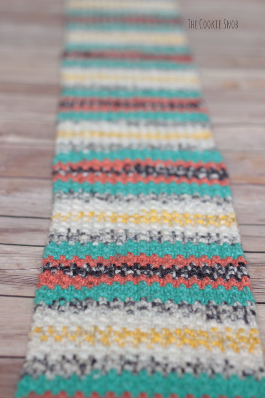 Simple Striped Scarf The Cookie Snob