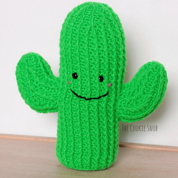 Cuddly Cactus Free Crochet Pattern