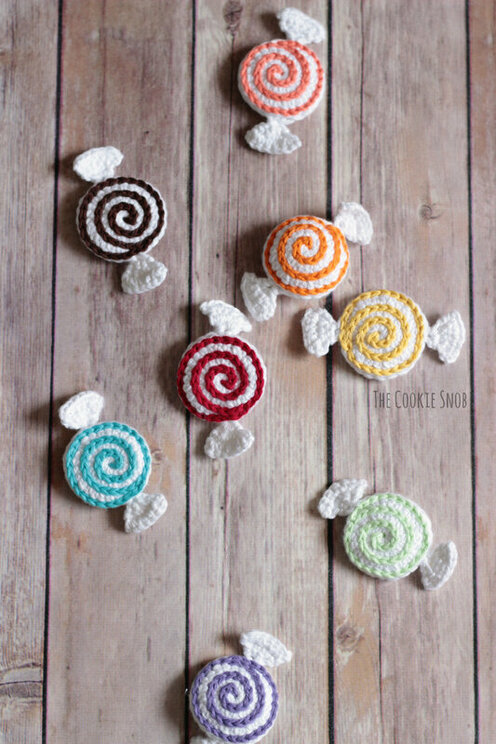 Valentine Candies Free Crochet Pattern