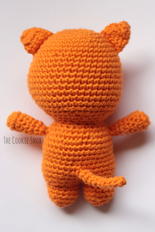 Christopher the Cat Free Crochet Pattern