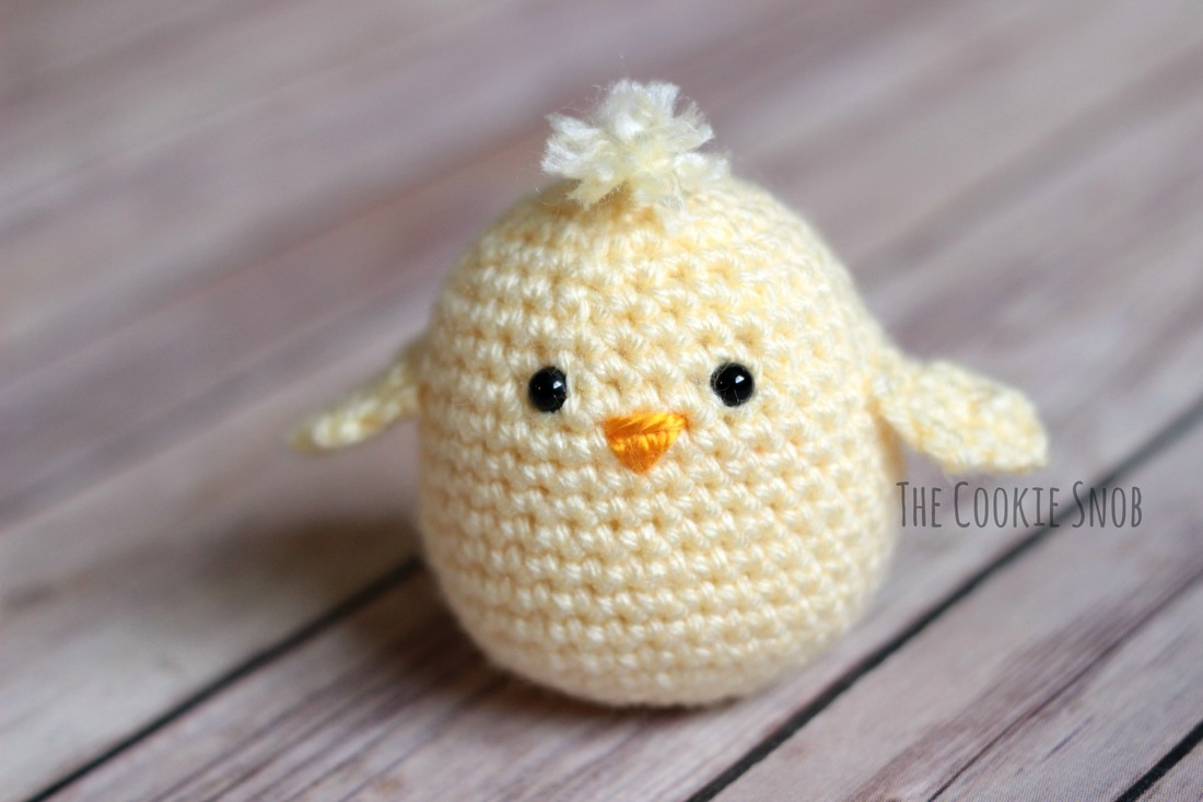 Eggster Chick Free Crochet Pattern