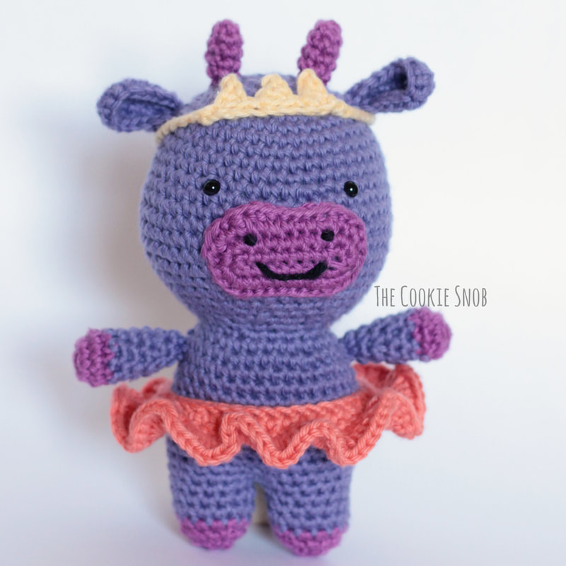Clementine the Cow Free Crochet Pattern