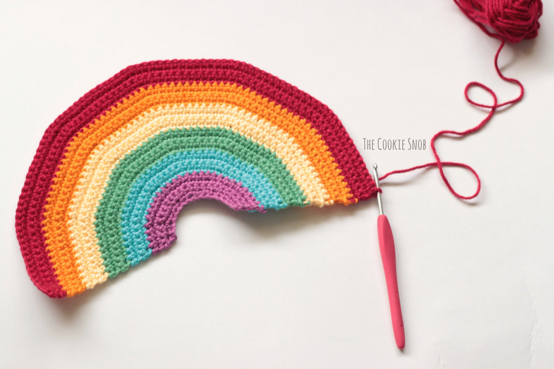 Rainbow Plushy Free Crochet Pattern