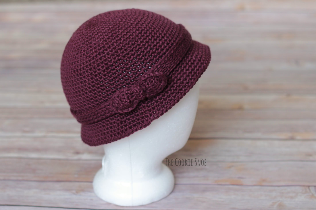 Vintage Style Crocheted Cloche Hat