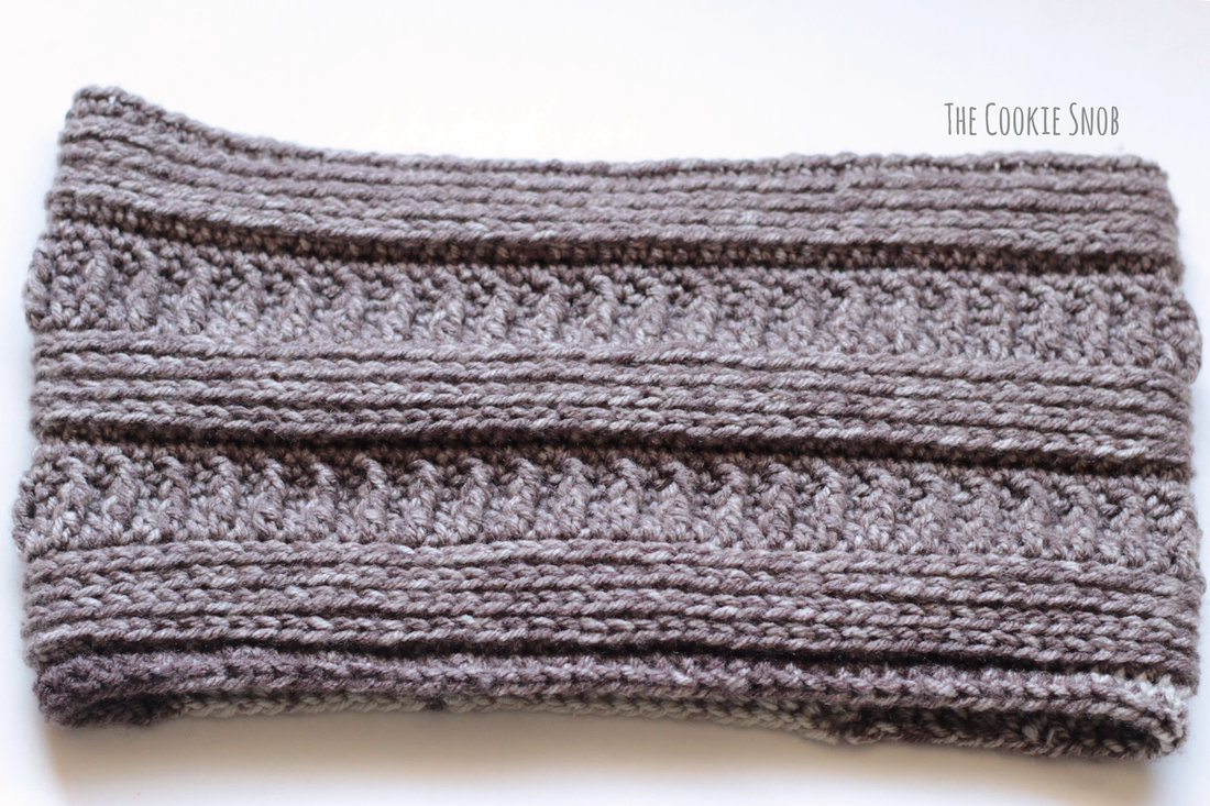 3 mL Cowl Free Crochet Pattern