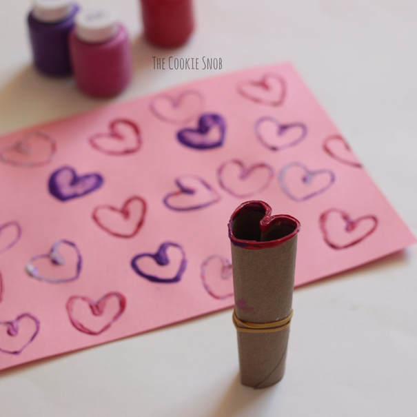 Heart Stamp DIY